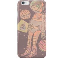 Space man. iPhone Case/Skin