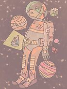 Space man. by BoxcarRaccoon