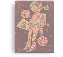 Space man. Canvas Print