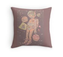 Space man. Throw Pillow