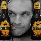 Beer Monster..! by Rob Hawkins