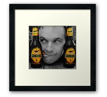 Beer Monster..! Framed Print