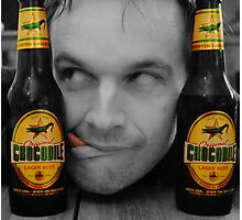 Beer Monster..! Photographic Print
