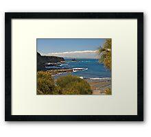 Summer at Eagles Nest, Inverloch, Victoria. Framed Print