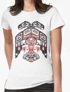 Haida - With Respect Womens Fitted T-Shirt