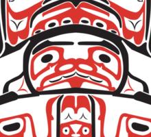 Haida - With Respect Sticker