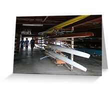 Manning River Rowing Club Greeting Card