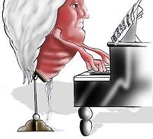 Beethoven (Sort Of) by Londons Times Cartoons by Rick  London