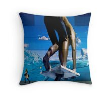 Dive in M8 Throw Pillow
