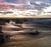 Garie Dawn - Garie Beach, NSW by Malcolm Katon