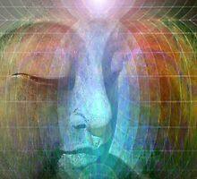 Rainbow buddha by Bill Brouard
