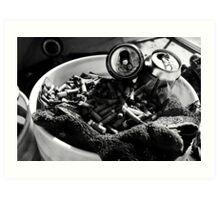 ashtray Art Print