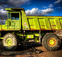 Really Really Green Truck by Bob Larson