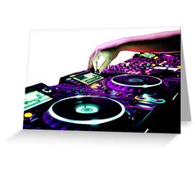 Euro-Urban Dance Music Collection Greeting Card