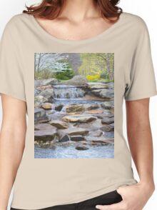 Garden Water Falls Women's Relaxed Fit T-Shirt