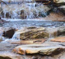 Garden Water Falls Sticker