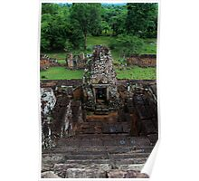 At the Top of Prè Rup - Angkor, Cambodia. Poster