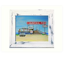 Canaveral Pier 1963-64 by MGilroy Art Print