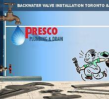 Backwater Valve Installation Oakville & GTA by Presco Plumbing