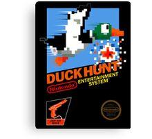 Duck Hunt NES Canvas Print