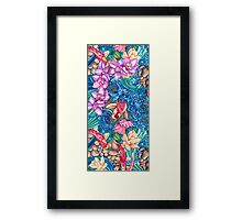 Orchid Splash Framed Print