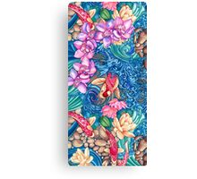 Orchid Splash Canvas Print