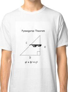 Pyswagoras Theorem Classic T-Shirt