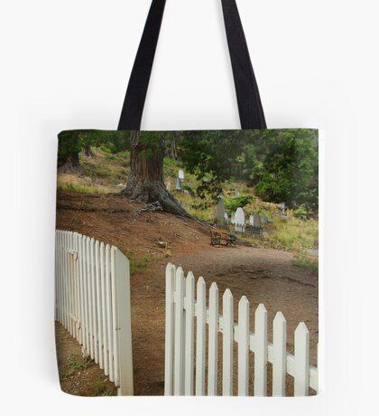 Walhalla Cemetery Entrance Tote Bag