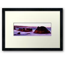 Mystery Bay Framed Print