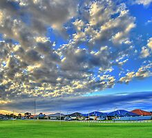 Big Sky at Rockingham by Murray Swift