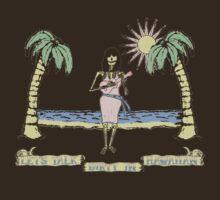 """Let's Talk Dirty In Hawaiian"" (faded) by Barton Keyes"