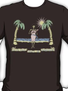 """Let's Talk Dirty In Hawaiian"" (faded) T-Shirt"