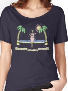 """Let's Talk Dirty In Hawaiian"" (faded) Women's Relaxed Fit T-Shirt"