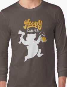 Happy Axe Camper Long Sleeve T-Shirt
