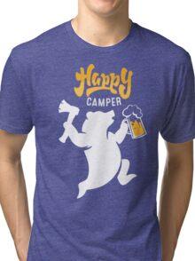 Happy Axe Camper Tri-blend T-Shirt