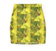 Jumping Ladybug Pencil Skirt