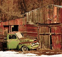 Old Truck and Shed by Ryan Houston