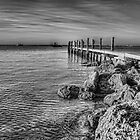 A jetty at Rockingham by Murray Swift