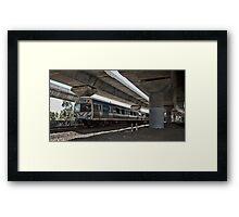 Metro Melbourne Framed Print