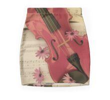 The Beauty Of Music Mini Skirt