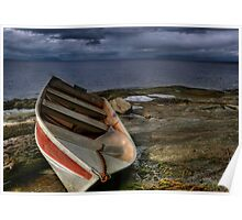 Shipwrecked Dinghy Poster