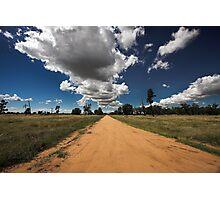 Sky Road Photographic Print