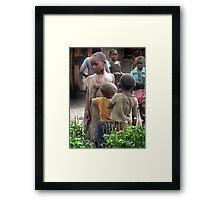 Village Children Framed Print