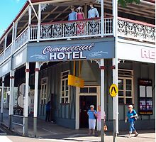 Commercial Hotel Boonah by Wayne  Nixon  (W E NIXON PHOTOGRAPHY)