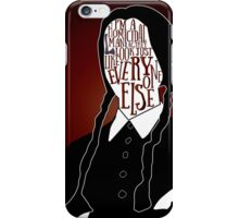 Wednesday Addams iPhone Case/Skin