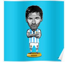 Messi figure Poster