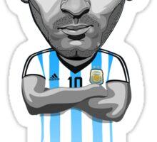 Messi figure Sticker