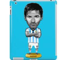 Messi figure iPad Case/Skin