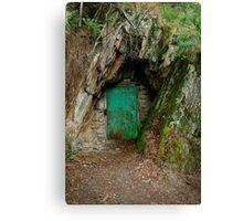 Long Tunnel Extended Gold Mine,Walhalla Canvas Print