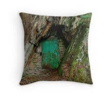 Long Tunnel Extended Gold Mine,Walhalla Throw Pillow